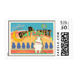 GREETINGS FROM COW PLANET by Boynton Postage