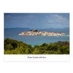 Greetings from Croatia, Primosten Postcard