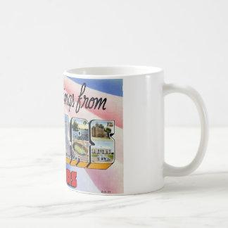Greetings from Dallas Texas Coffee Mug
