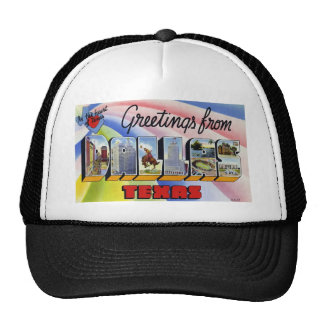 Greetings from Dallas Texas Hats