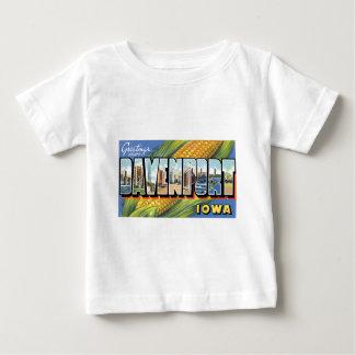 Greetings from Davenport, Iowa! Baby T-Shirt