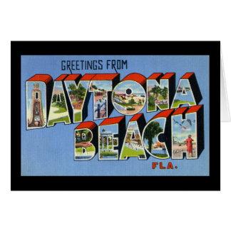 Greetings from Daytona Beach Florida Cards