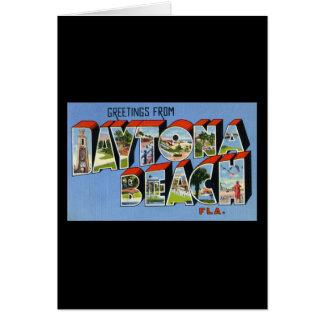 Greetings from Daytona Beach Florida Greeting Card