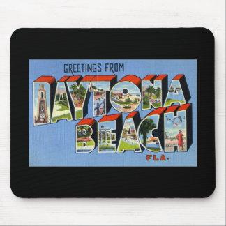 Greetings from Daytona Beach Florida Mouse Pads