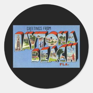 Greetings from Daytona Beach Florida Sticker