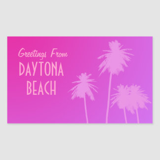 Greetings From Daytona Beach Stickers