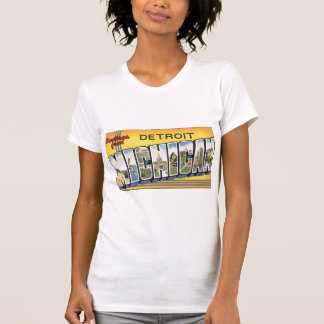 Greetings from Detroit Michigan T Shirts