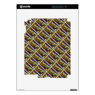 Greetings from Detroit Michigan Vintage Post Card Decal For iPad 2