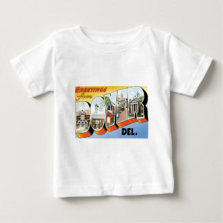 Greetings from Dover, Delaware! Baby T-Shirt