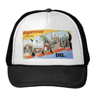 Greetings from Dover, Delaware! Trucker Hat