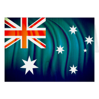 Greetings from down under card