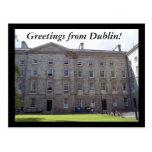 Greetings from Dublin! Postcard