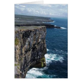 Greetings from  Dún Aonghasa Card