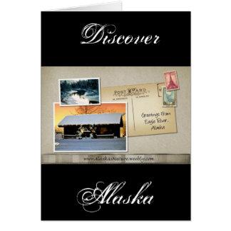 Greetings from Eagle River, Alaska Card