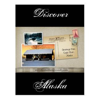Greetings from Eagle River, Alaska Postcard