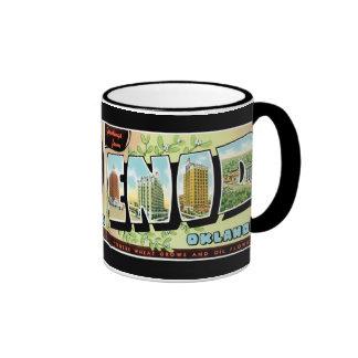 Greetings from Enid Coffee Mugs