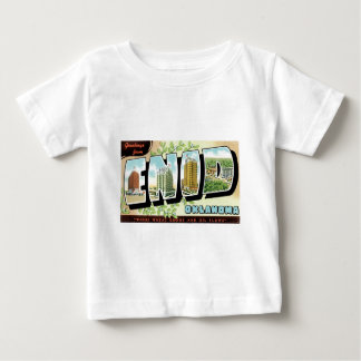Greetings from Enid, Oklahoma! Baby T-Shirt