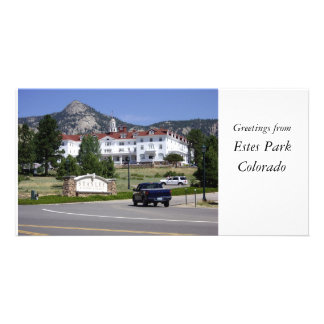 Greetings from Estes Park, Colorado Photo Card Template