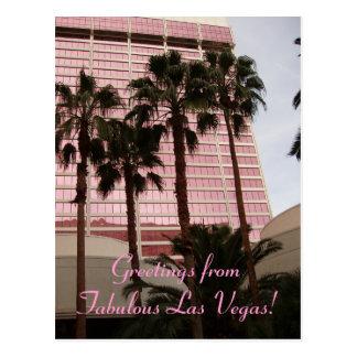 Greetings from Fabulous Las Vegas! Postcard