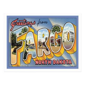 Greetings From Fargo North Dakota Post Card