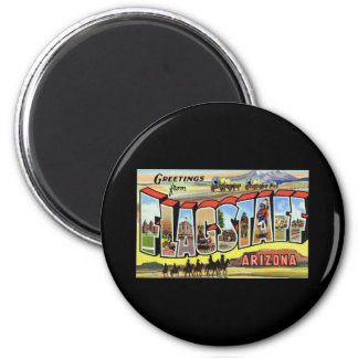 Greetings from Flagstaff Arizona 2 Inch Round Magnet