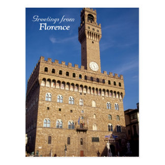 """Greetings from Florence"" postcard"