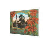 Greetings from Florida the Sunshine State Canvas Print