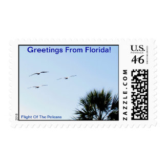 GREETINGS FROM FLORIDAseries-50 PROFIT TO SCHOOLS Stamp
