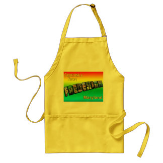 Greetings From Frederick Cooking Apron