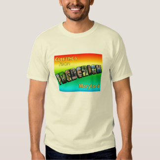 Greetings From Frederick Mens Tee