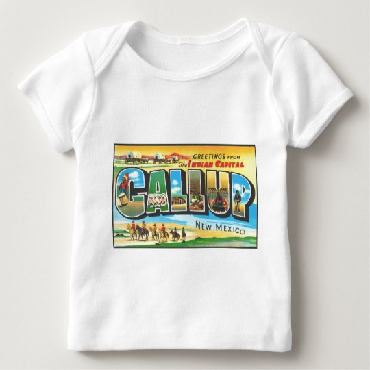 Greetings from Gallup Baby T-Shirt