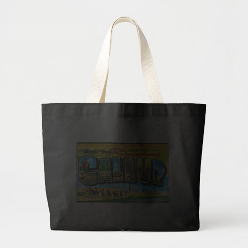 Greetings from Gallup Canvas Bags