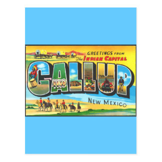 Greetings from Gallup Post Cards