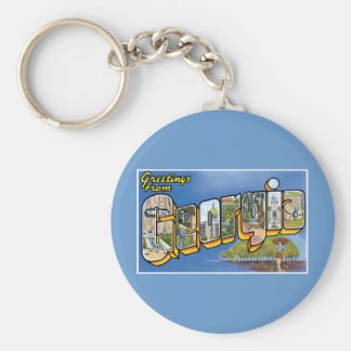 Greetings from Georgia! Keychain