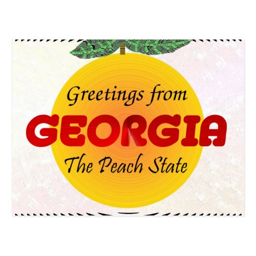 Greetings from Georgia Postcards