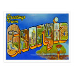 Greetings From Georgia Postcard