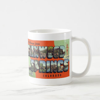 Greetings from Glenwood Springs Postcard Mug