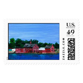 Greetings from Gloucester, MA Postage