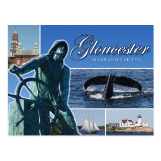 Greetings from Gloucester, MA Postcard