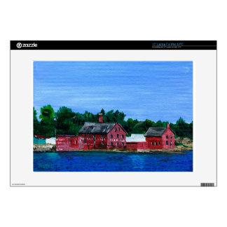 "Greetings from Gloucester MA 15"" Laptop Skin"
