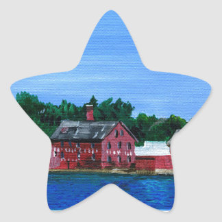 Greetings from Gloucester, MA Star Sticker