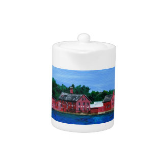 Greetings from Gloucester, MA Teapot