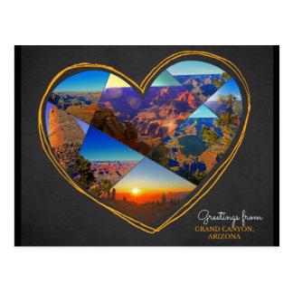 Greetings from Grand Canyon, Arizona ♥ Postcard