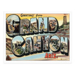Greetings From Grand Canyon Arizona Postcard