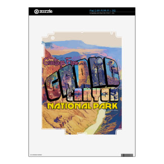 Greetings From Grand Canyon National Park Decals For The iPad 2