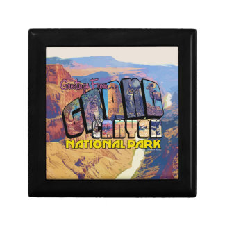 Greetings From Grand Canyon National Park Gift Box