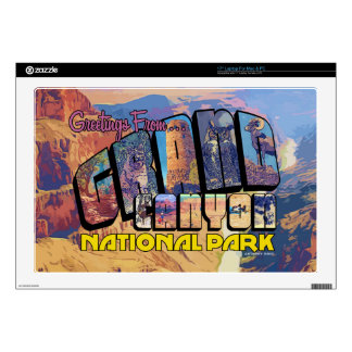Greetings From Grand Canyon National Park Laptop Decals