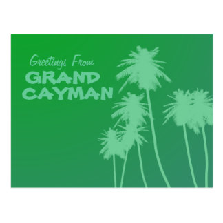 Greetings From Grand Cayman postcard