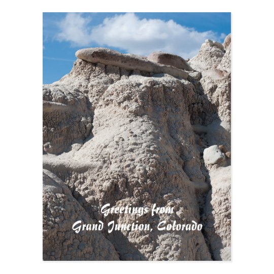 Greetings from Grand Junction, Colorado Postcard