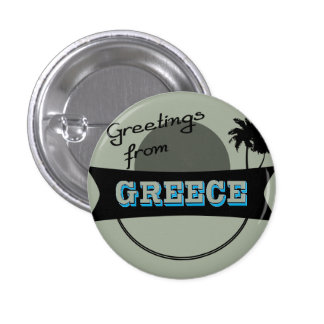 Greetings from Greece badge Button